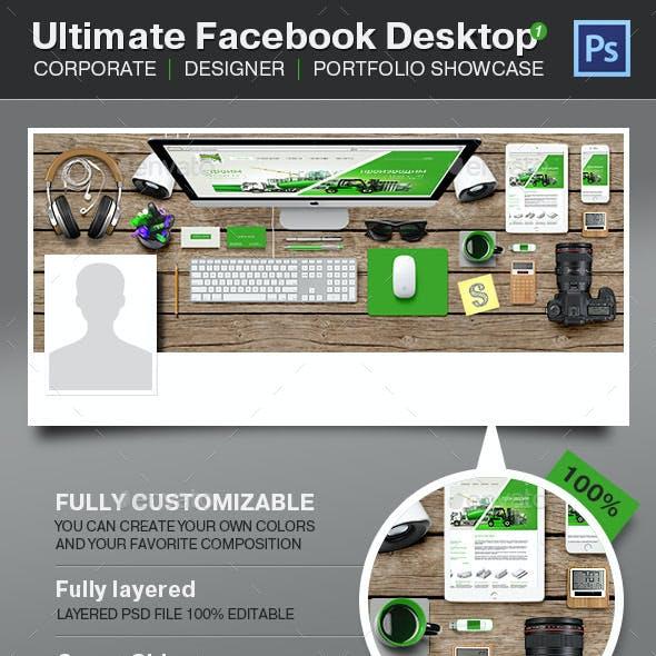Ultimate Facebook Timeline Desktop - Project Showc