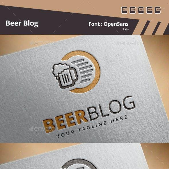 Beer Blog Logo Template