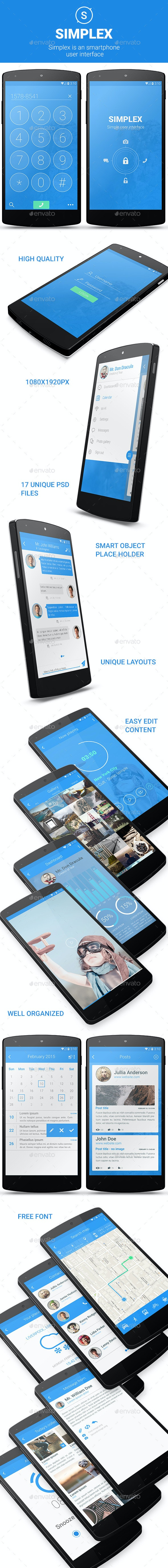 Simplex UI - User Interfaces Web Elements