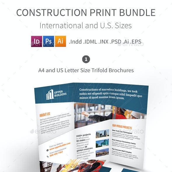 Construction Company Print Bundle