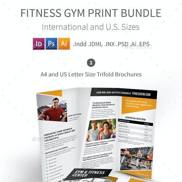 Fitness Gym Print Bundle