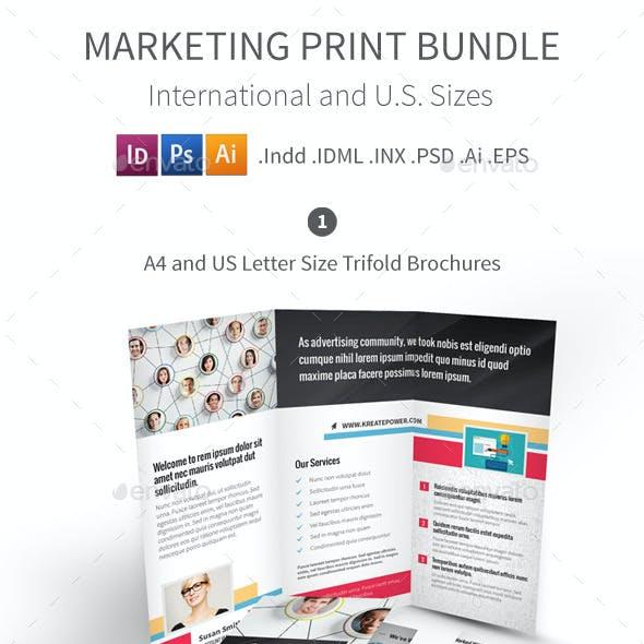 Marketing and Advertising Print Bundle