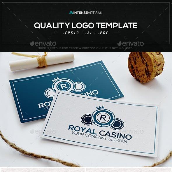 Royal Casino Logo Template