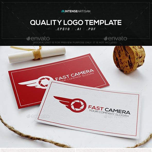 Fast Camera Logo Template
