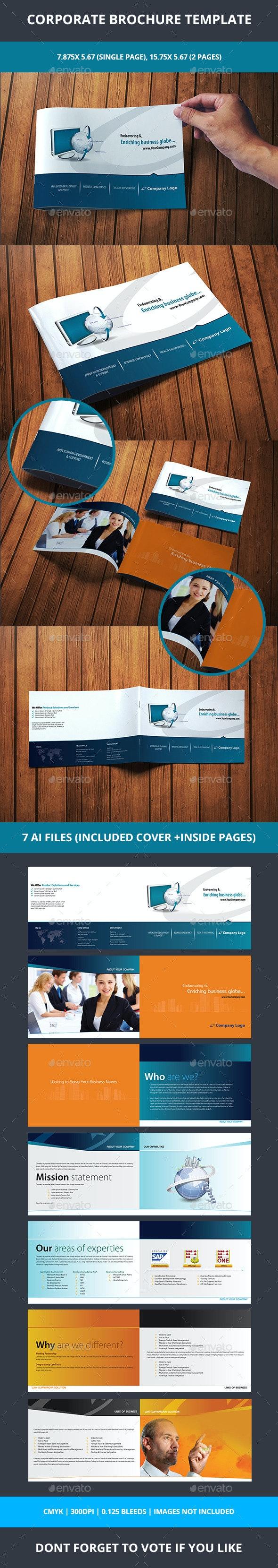 Corporate Brochure - Corporate Business Cards