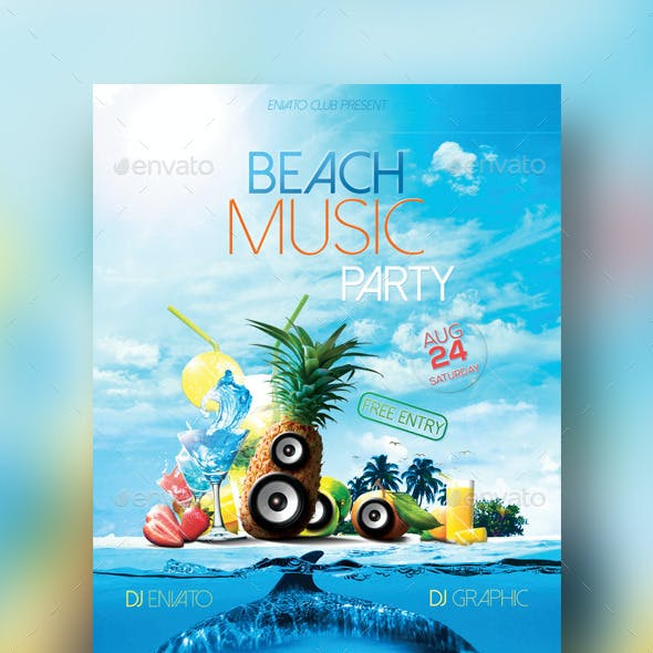 Beach Music Party