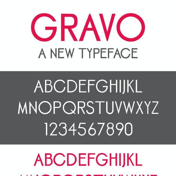 Gravo Font Family