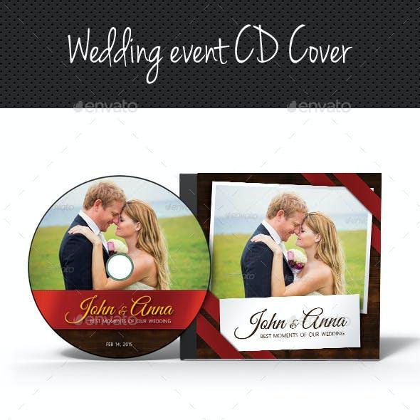 Wedding Event CD Cover V08