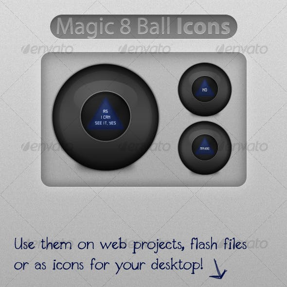 Magic 8 Ball Icons