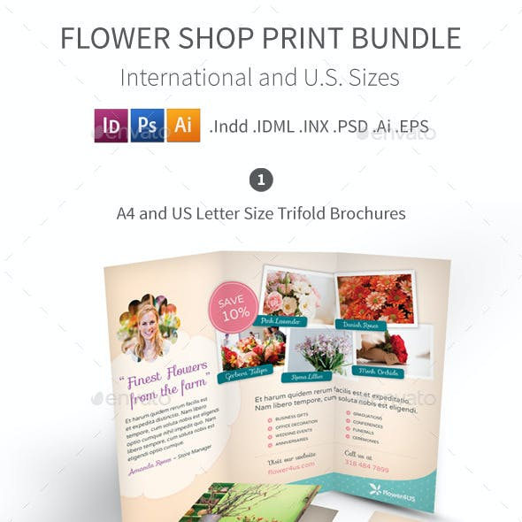 Flower Shop Print Bundle