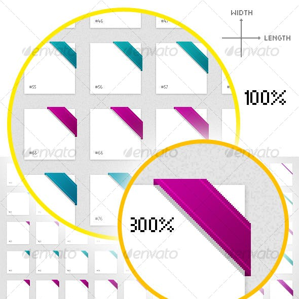 Pixelperfect Web Ribbon Matrix