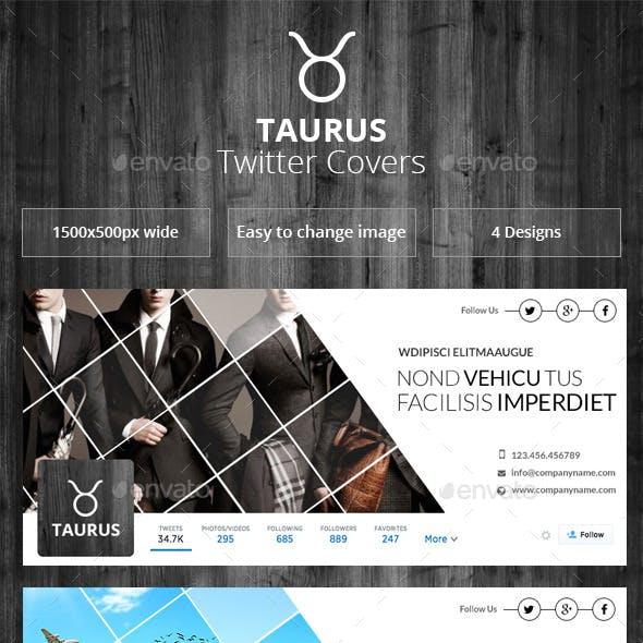 Taurus - Twitter Covers