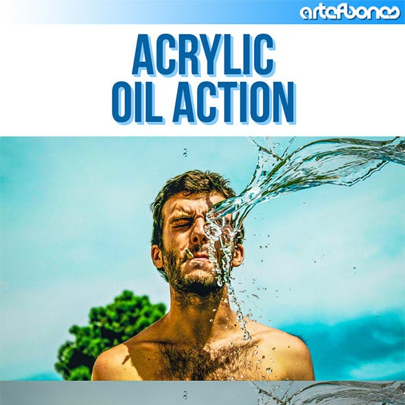 Acrylic Oil Action