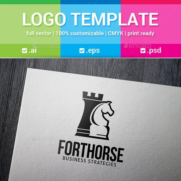 Fort Horse Chess Logo