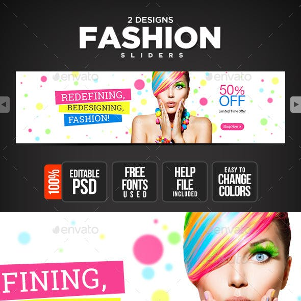 Fashion Accessories Slider