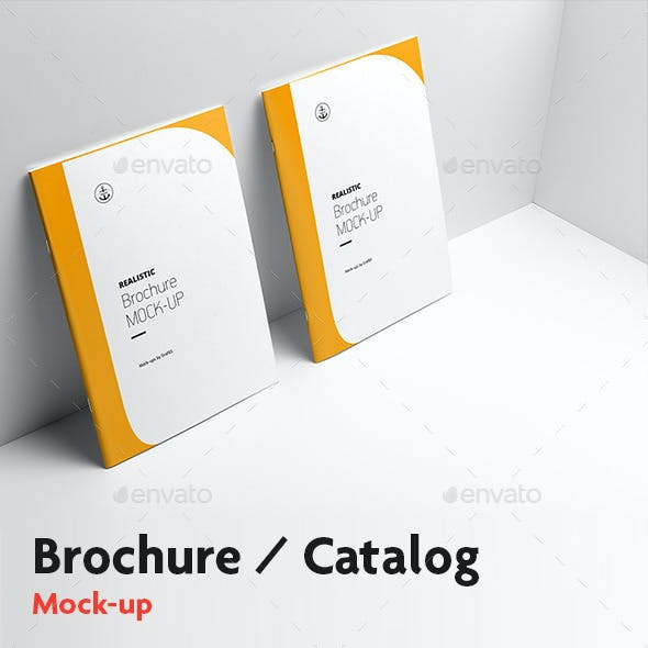 Brochure / Catalog Mock-Up v.2