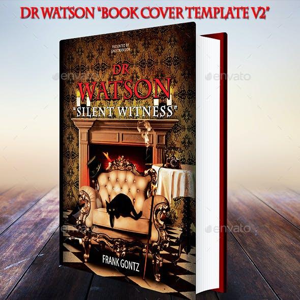 Book Cover Template PSD V2