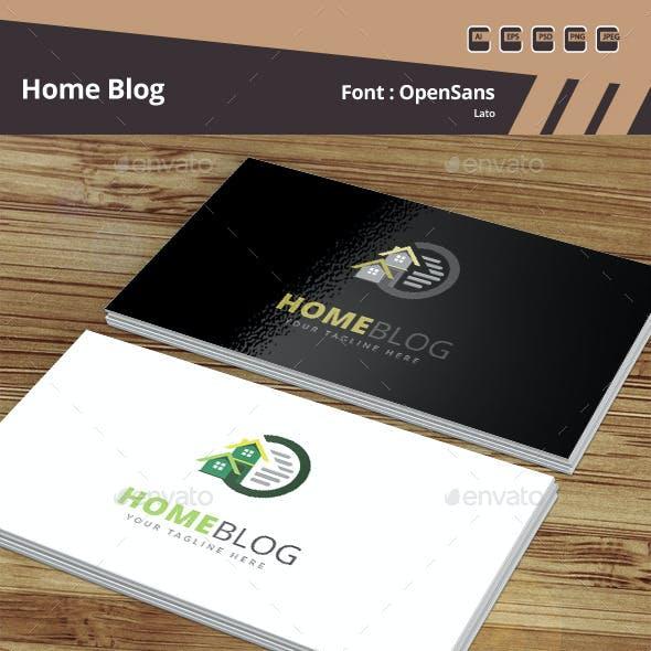 Home Blog Logo Template