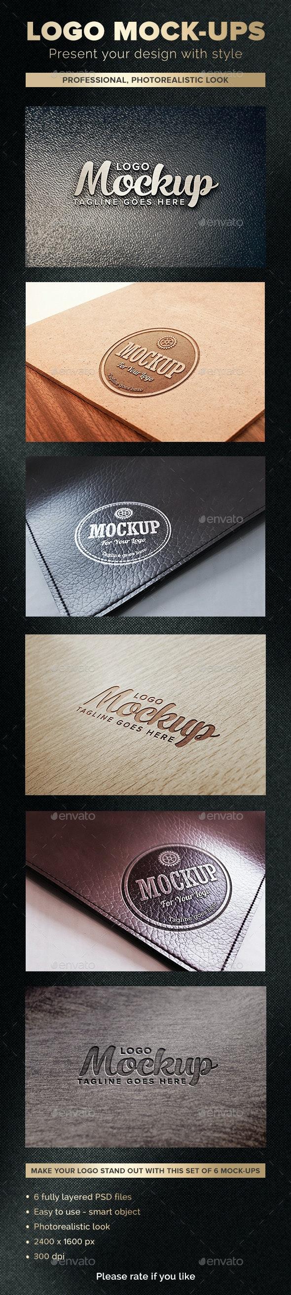 Logo Mockups - Logo Product Mock-Ups