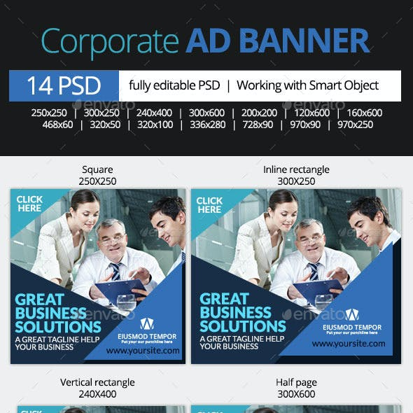 Corporate and Business Web Banners