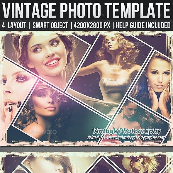 Vintage Photo Templates