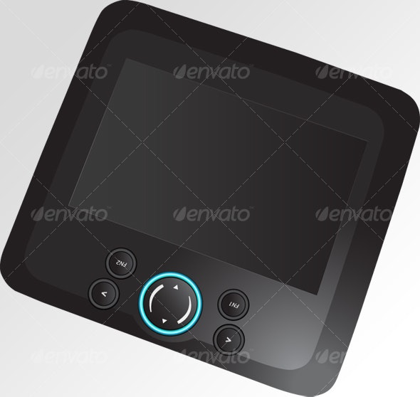 Tablet Vector - Computers Technology
