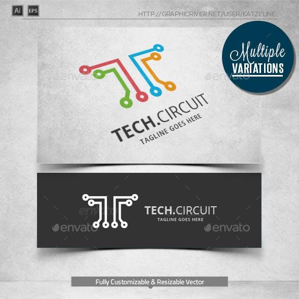 Tech Circuit - Logo Template