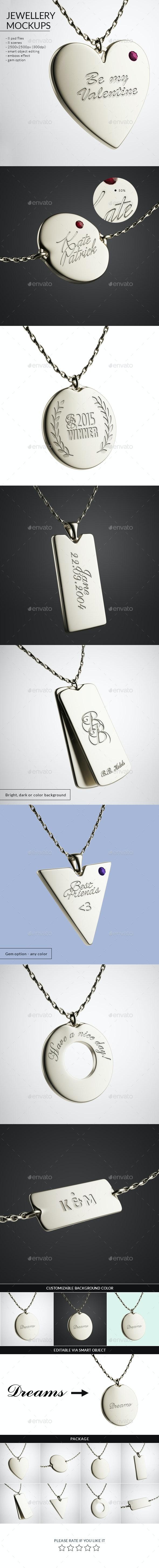 Jewellery Mockups - Logo Product Mock-Ups