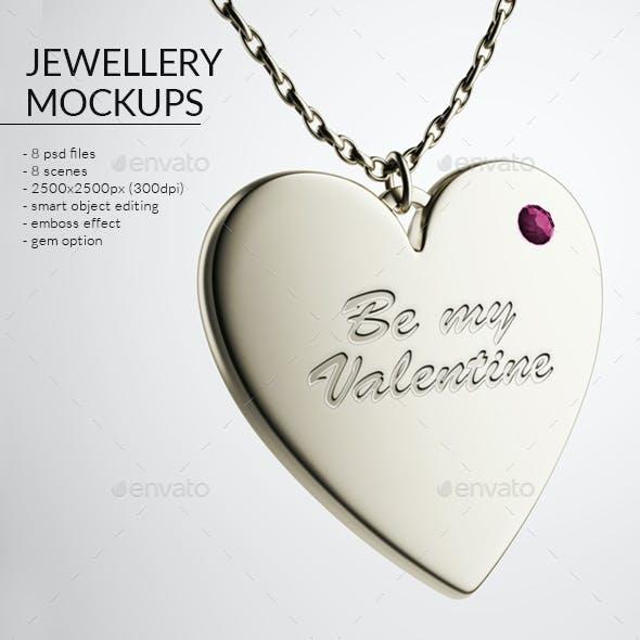 Jewellery Mockups