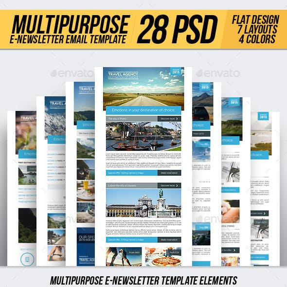 Travel | Multipurpose E-newsletter