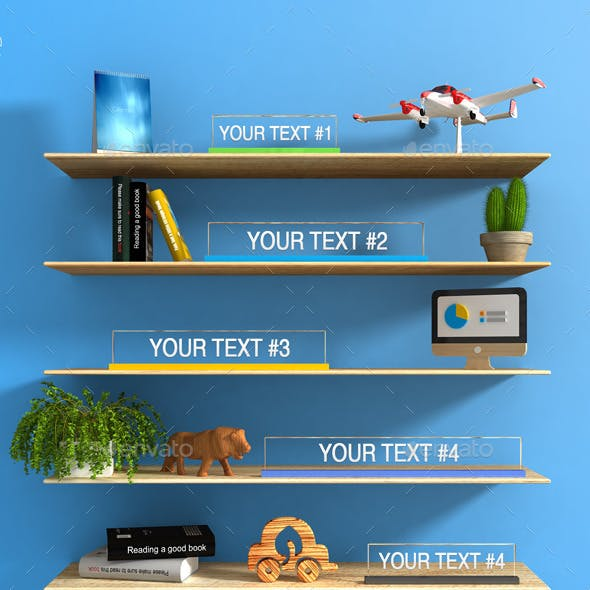 Shelves Template