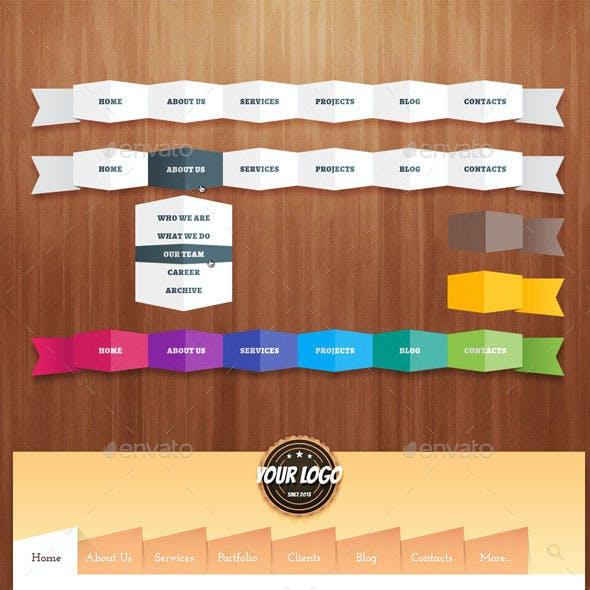 Collection of Navigation Bars # 5