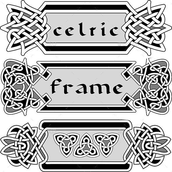 Celtic Frame Set - Borders Decorative