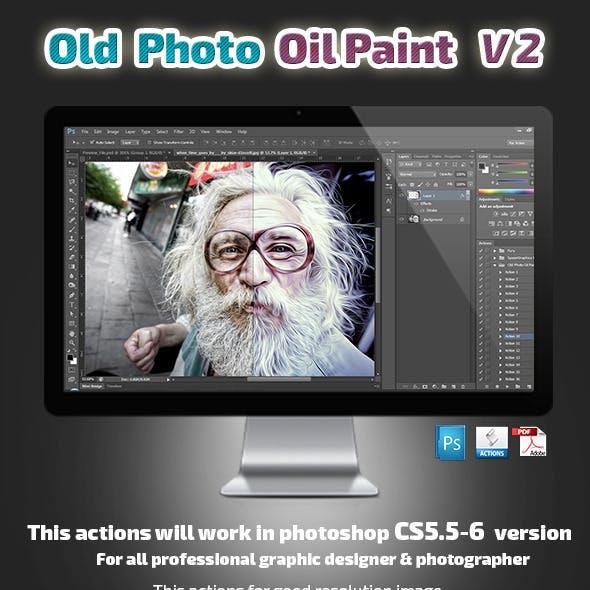 Old Photo Oil Paint V2