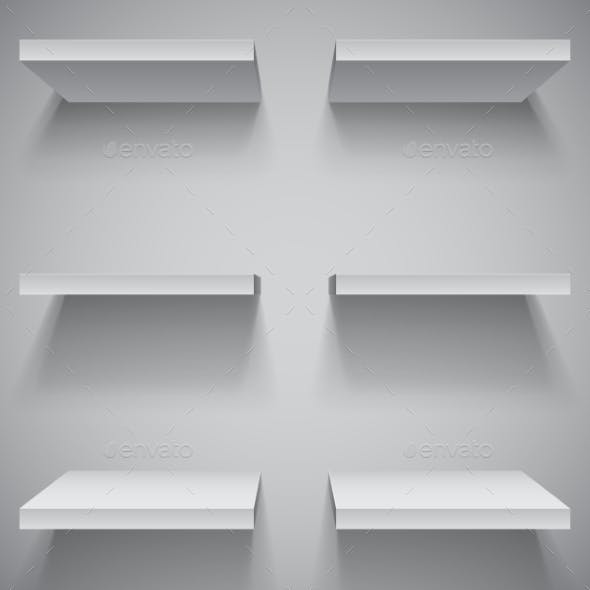 White Shelves