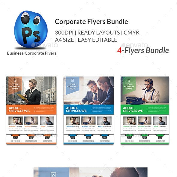 Four Company Graphics, Designs & Templates from GraphicRiver