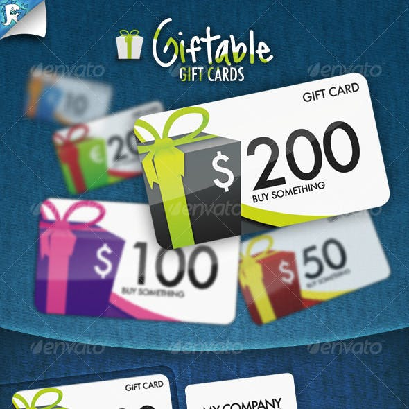 Giftable Gift Cards - It's a present