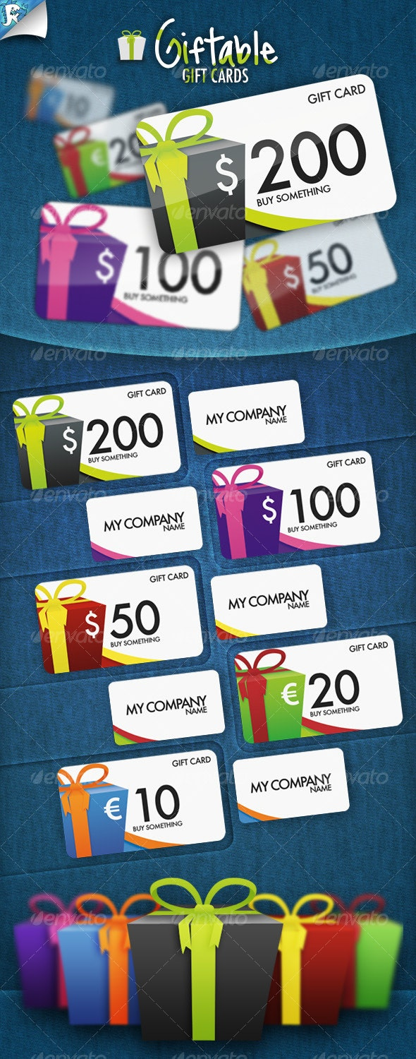 Giftable Gift Cards - It's a present - Creative Business Cards