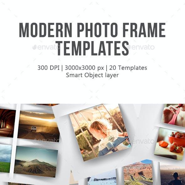 Modern Photo Frame Templates