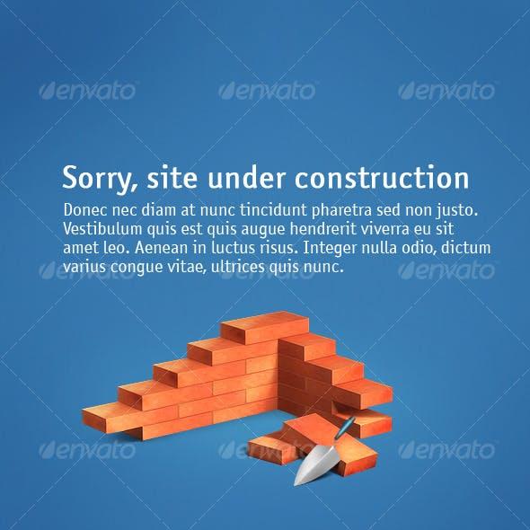 Illustration «Under construction»