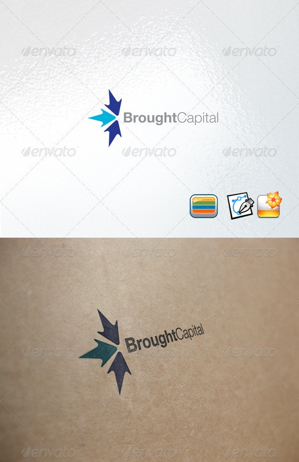 Broughtcapital - Letters Logo Templates