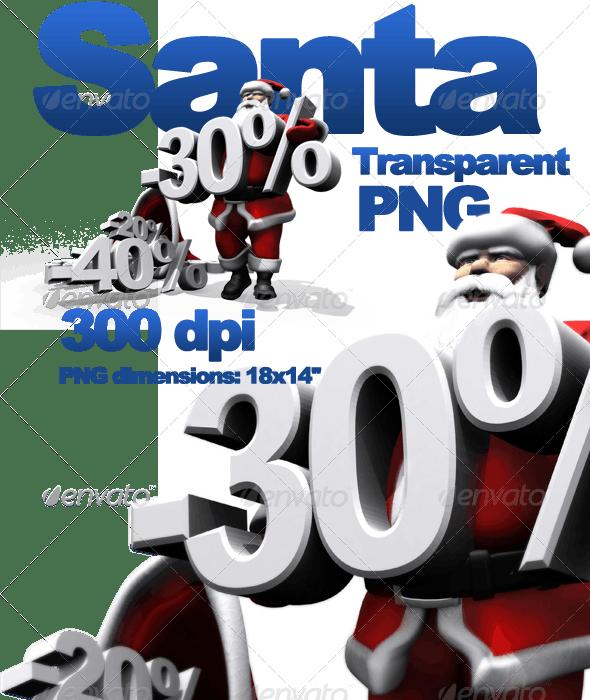 Santa's Offer - Characters 3D Renders