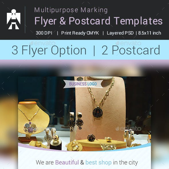 Multipurpose Flyer and Postcard Template