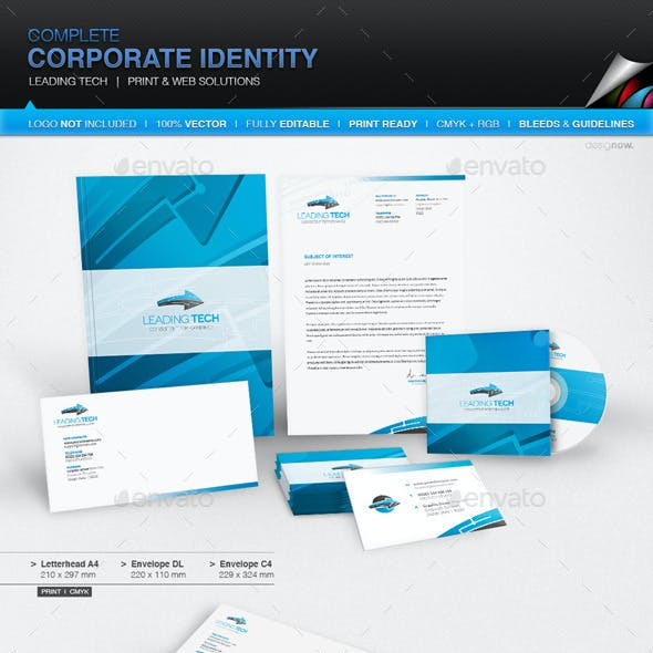 Corporate Identity - Leading Tech