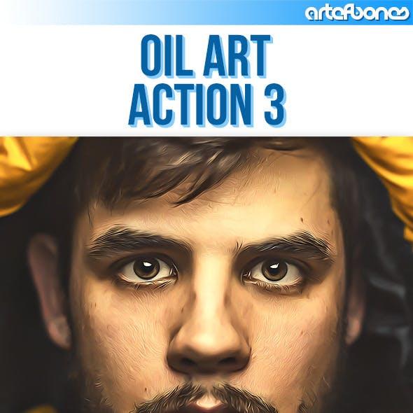 Oil Art Action 3