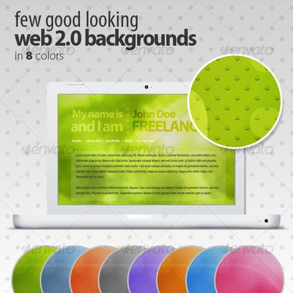 Few Good Looking Web 2.0 Backgrounds