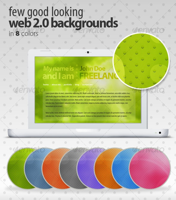 Few Good Looking Web 2.0 Backgrounds - Backgrounds Graphics