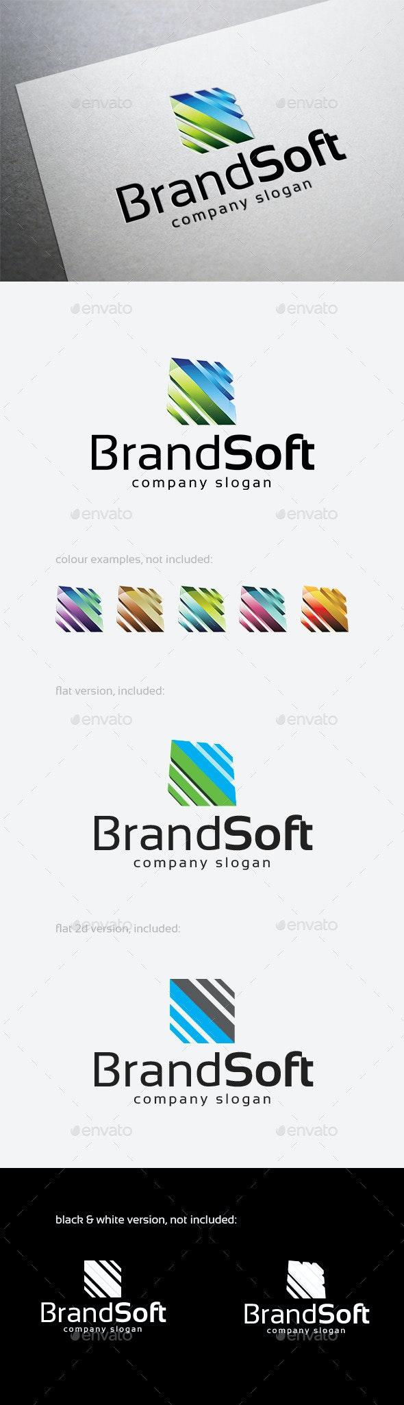 Brand Soft Logo - Abstract Logo Templates