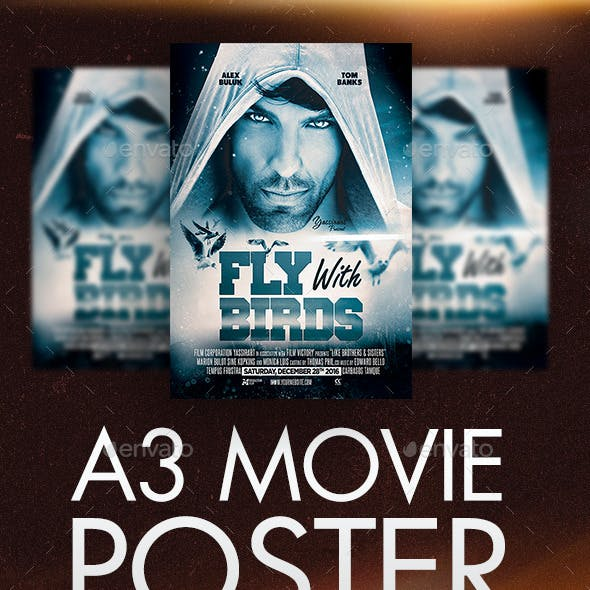 A3 Poster Film Template V2
