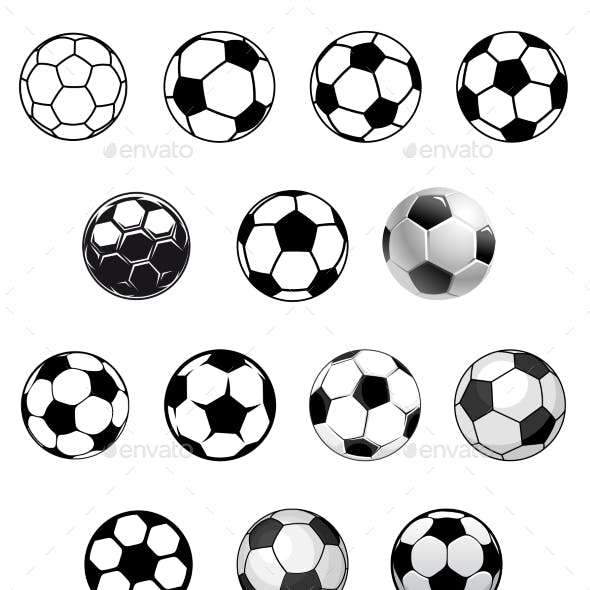Soccer Balls or Footballs